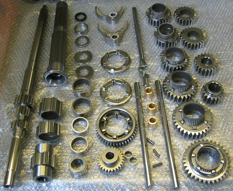 straight-cut gear sets for 01E? :: motorgeek com